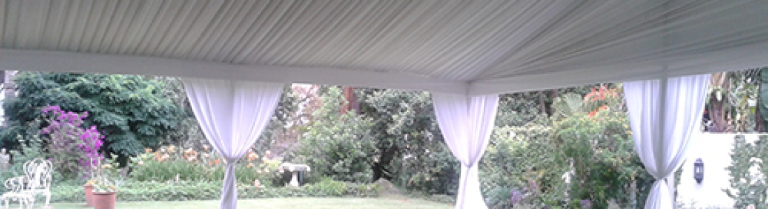 Draped Curtains Dominos Tents